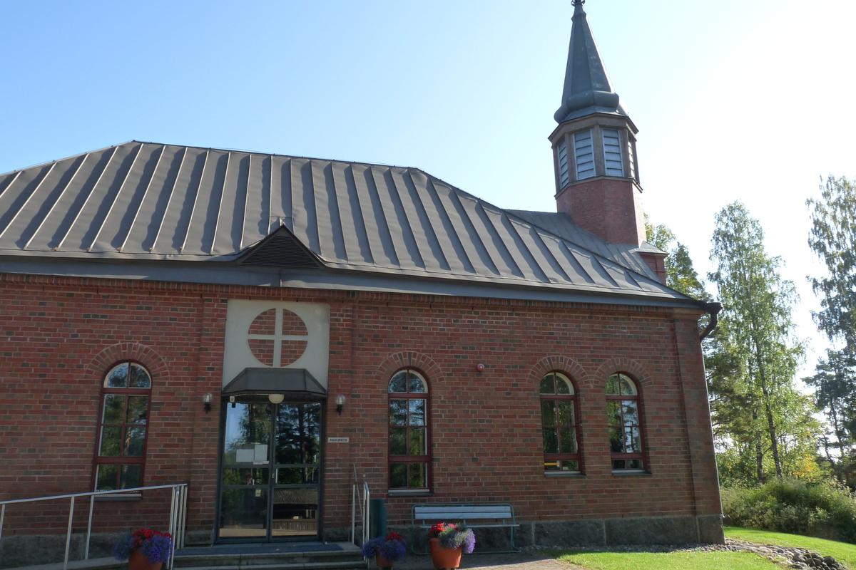 Ylämaan kirkon sali
